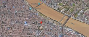 Vue aérienne de la « Licence Professionnelle Stratégie Média et Expertise Digitale » dans Google Maps